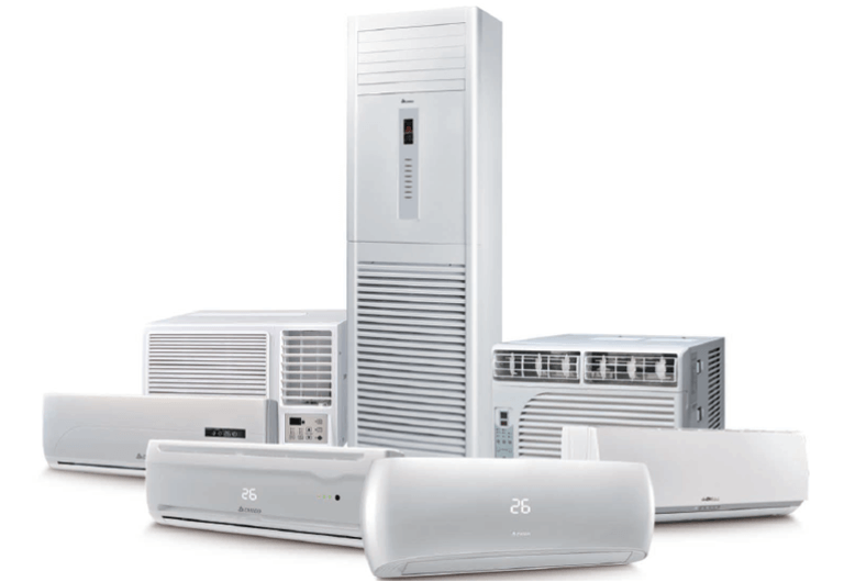 Types of Air Conditioner's