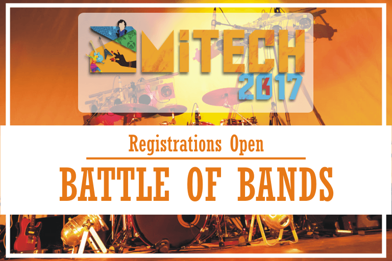 Battle of Bands in AMITECH'17 at AMITY University