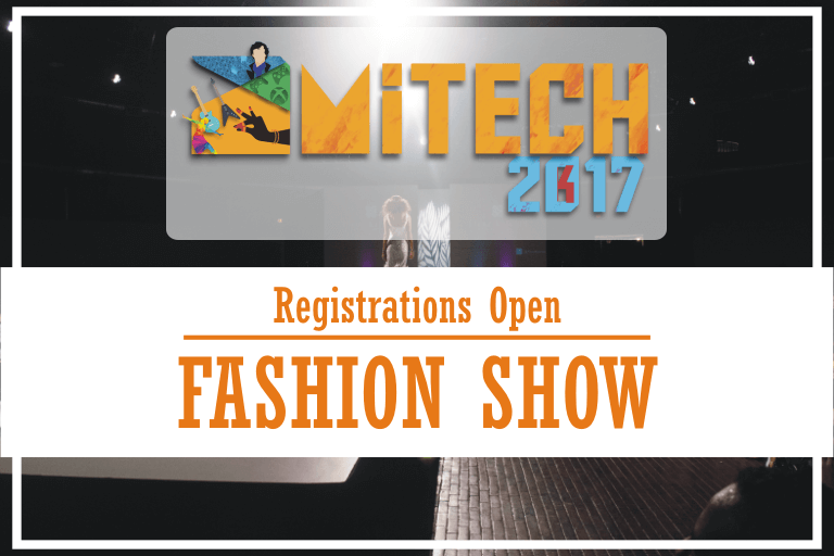 Fashion Show at AMITECH'17, AMITY University