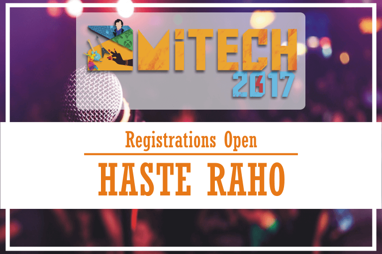 Haste Raho, Stand-up Comedy Event at AMITECH'17, AMITY University