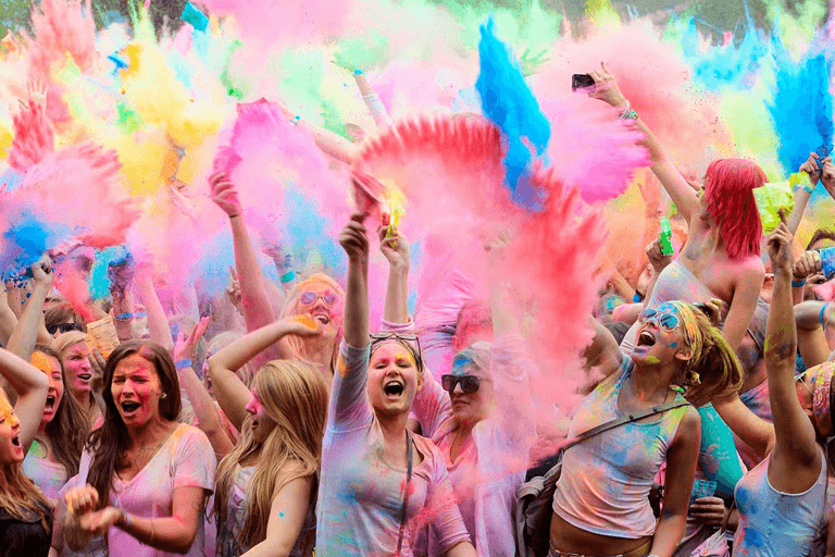 Holi celebration in India – 13th March