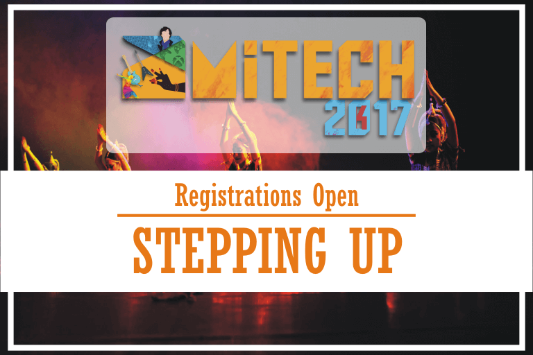 STEPPING UP at AMITECH'17, AMITY University